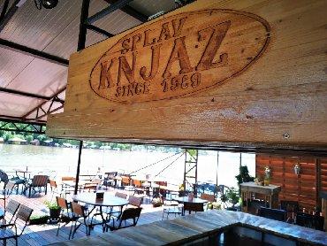 Restorani, kafići - Srbija: Splav-klub Knjaz na prodaju. Prodajem splav-klub Knjaz u radu sa uredn