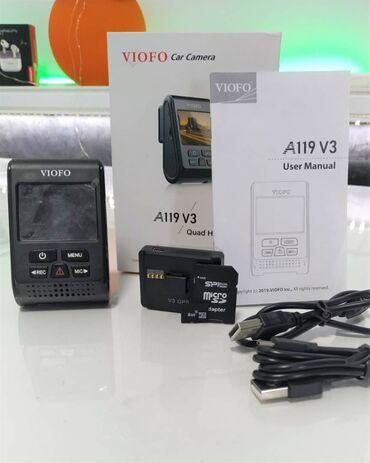 толь цена в бишкеке в Кыргызстан: Продаю видеорегистратор viofo a119 v3. Новый. Использовался только в о