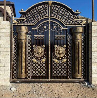 ворота для дома цена in Кыргызстан   КНИГИ, ЖУРНАЛЫ, CD, DVD: Кованные Ворота,!!!Ворота — это первое, что видит гость, приходя в ваш