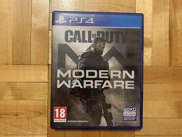 Call of duty modern warfare На английском, в идеальном - новом