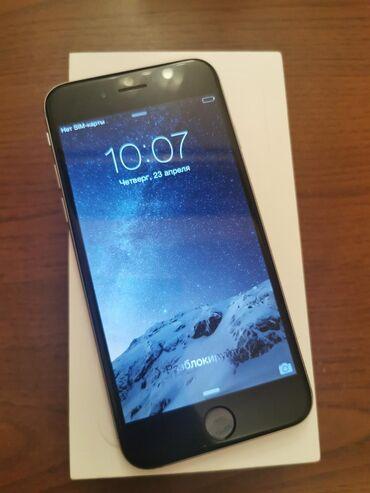Iphone 6. Yaddash 16 GB. Ela vaziyyatda. Aksesuarlar var. Anti udar uz