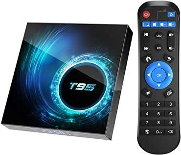 джойстик андроид в Кыргызстан: Андроид smart tv box t95 2/16*************android 10.0 тв бокс
