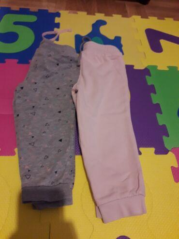 Skafander za bebe - Pozarevac: Trenerke za devojcice,duzina je 32 cm,cena je za par
