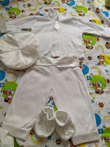 Детский мир - Кой-Таш: Продам набор на выписку для новорожденного мальчика. Купили и не