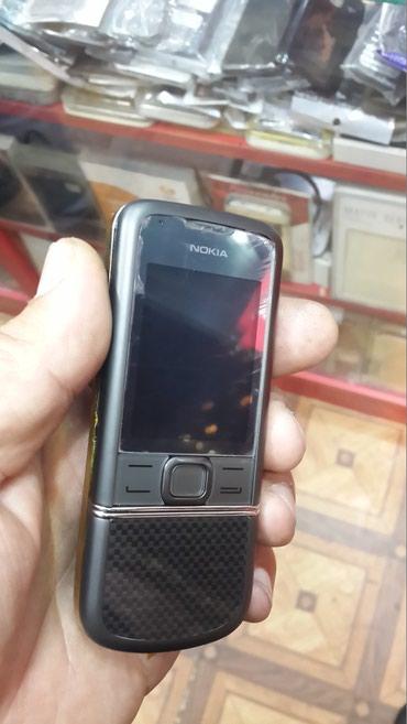 Bakı şəhərində Nokia 8800 CDMA Catel orjinal qara karbon rəng zəmanətlə rəsmi