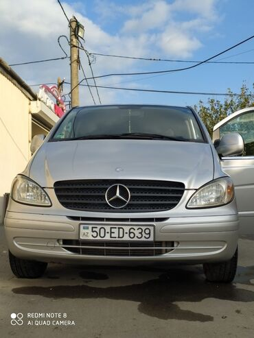 1061 elan   NƏQLIYYAT: Mercedes-Benz Vito 2.2 l. 2009   220 km