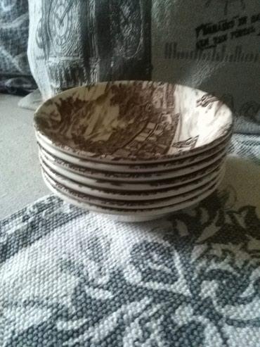 Engleski porcelan,manji duboki tanjiri,za kompot ili nedto u tom - Sombor