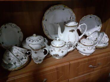 servizi - Azərbaycan: Qədimi çay servizi.Heç işlənməyib