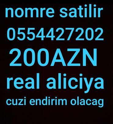 SİM-kartlar - Azərbaycan: Salam nomre tecili satilir ciddi aliciya cuzi endirim olacag