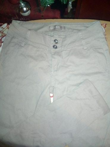 Papuce-broj-anatomske-krem-boja - Srbija: Krem pantalone kao nove, broj 27