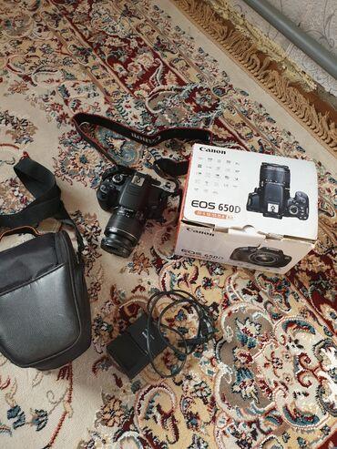 сканер canon в Кыргызстан: Canon 650d+18-55mm,в отличном состояний. Пробег не больше 10тыс