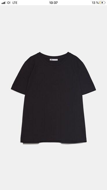 Женская одежда в Кант: Женская футболка ZARA