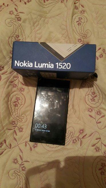 Sumqayıt şəhərində Nokia lumia 1520. yaxwi veziyetdedir. ustunde anti udar hediye. Proble