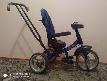 велосипед с детской коляской в Кыргызстан: Продаю детский велосипед б/у Бишкек мкр достук