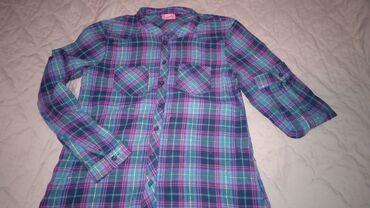 ворота джалал абад в Кыргызстан: Продаётся красивая рубашка в клетку, без воротника. Состояние хорошее