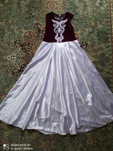 Платье с кыргызским орнаментом. В отличном состоянии. Сама покупала за