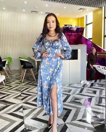 Продаю платье новое размер S M ткань атлас