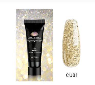 Poly gel zlatni, 20 ml, jos boja i vrsta u drugim oglasima