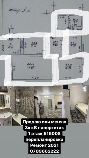 2600 объявлений: 3 комнаты, 62 кв. м Теплый пол, Бронированные двери, Дизайнерский ремонт