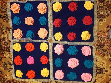 юбка баллон в Кыргызстан: Заказ алабыз. покрывало, подушка, юбка.  т:. г.Бишкек, Нарын