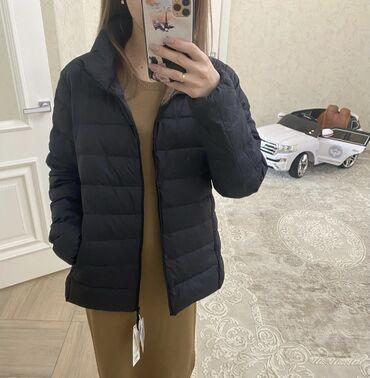 кожаная куртка мужская купить в Кыргызстан: Uniqlo размер L новая