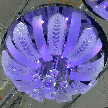 Bakı şəhərində 400×400 diametirli pult sistemi.keramik patronlu 3 cur led ışıqlı.mp3