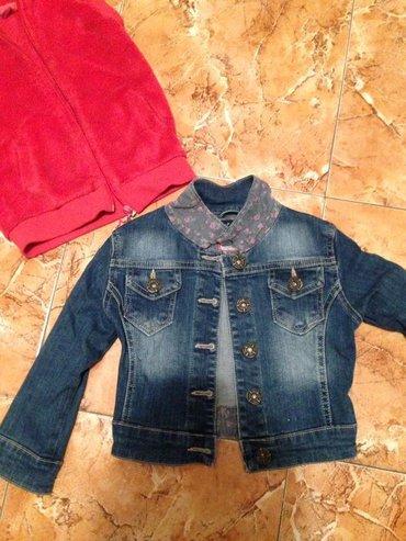 Teksas jaknica kao nova za neku malu curicu vel 4 saljem brzom postom - Smederevo