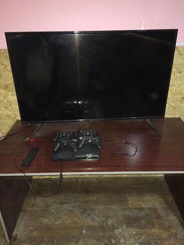 Электроника - Кадамжай: Sony playstation 34 жаны джестик70 оюну бар срочно сатылат баасы 13500