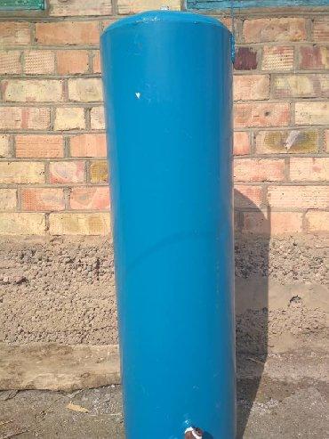 тэн для горячей воды в Кыргызстан: Водогрейный бак для ванной или душевой, 80 литров. Состояние как новое