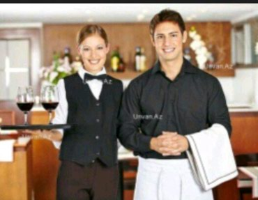 Bakı şəhərində Ailevi restorana ofisant bey ve xanimlar teleb olunur