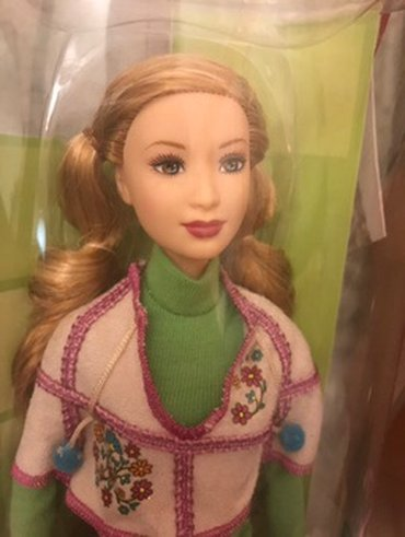 Barbie doll collectible moscow σε Ωρωπός