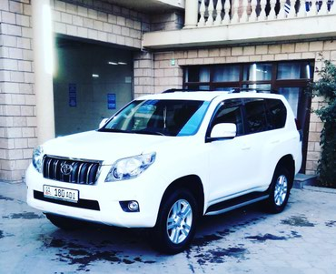 Toyota Land Cruiser Prado 2010 в Бишкек