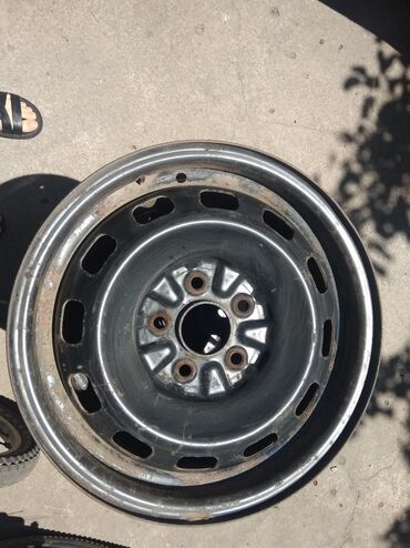диски 4 100 14 в Кыргызстан: Диски R 14 разболтовка 5/100.Подойдут на Субару, Тойота, Гольф-4Цена