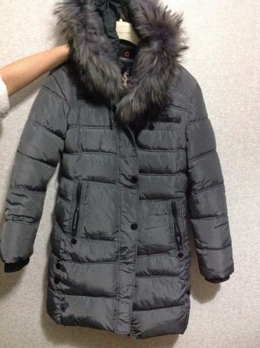 Пуховик, размер 48-50 xxl. носила один в Бишкек