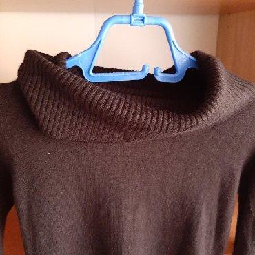 Crna-tunika - Srbija: Crna rolka kao tunika, kao mova, velicina S