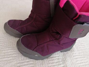 Bez cipele - Srbija: Zimske čizme br. 35 kao NOVEOdlične zimske čizme Decathlon br. 35 za