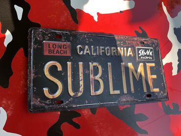 Реалистичная - Кыргызстан: Продаю номер California Sublime металический с реалистичной ржавчиной