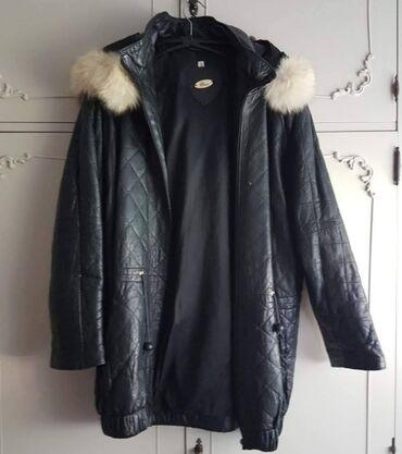 Zenska kozna jakna, kreatorka Mirjane Maric, prelepa