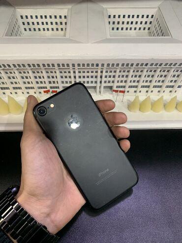 аккумуляторы для ибп apc в Кыргызстан: Б/У iPhone 7 32 ГБ Черный