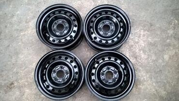 r14 диски в Кыргызстан: Железные диски R14 пятидырыеАуди.Мерседес.Фордсостояние