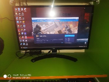 "мониторы lg в Азербайджан: LG 24MP59HT-P 24"" IPS LED 75Hz 5ms FreeSync 1920 x 1080 Monitorda"