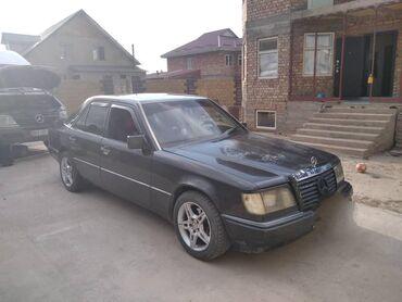 черный mercedes benz в Кыргызстан: Mercedes-Benz W124 2.3 л. 1991 | 200 км