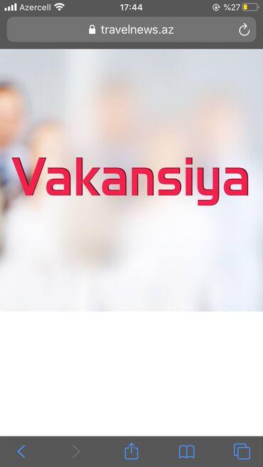 İş - Azərbaycan: Şəbəkə marketinqi məsləhətçisi. İstənilən yaş. Növbəli qrafik
