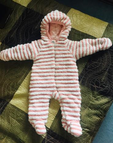 Детский утепленный комбинезон. На позднюю осень или раннюю зиму. Состо