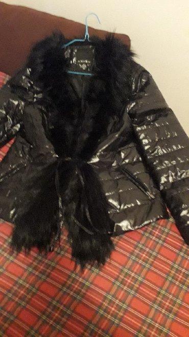 Ženska odeća | Pozarevac: Nova, Amisu, New Yorker crna jakna, velicina od L do XLPrelepa i