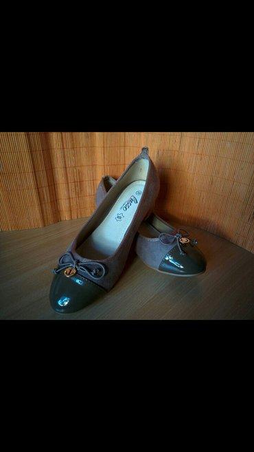 Sniženo danas 500 din. Cipele br. 39, braon boje, spic je od lak - Nis
