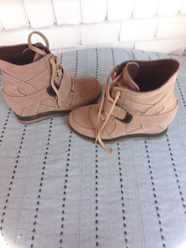 Kozne cipele - Srbija: Cipele za dame od vestacke koze broj je 36 a odgovara broju 37 jer