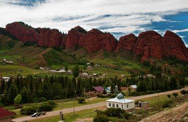 сдается 2.х комн. курорт Джеты-огуз. со всеми удобствами..с ремонтом . в Бишкек