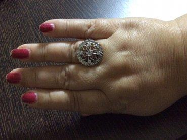 Bakı şəhərində Продаю серебренное кольцо привазное из заграниции.