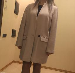 Zəngilan şəhərində Пальто лёгкое,светло-лилового цвета,размер XXL(18),надевала один раз ,